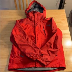 Men's the north face 3 in 1 outer shell ONLY